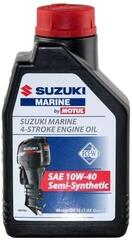 Suzuki Marine 4-Stroke Engine Oil SAE 10W-40 Semi-Synthetic 1L