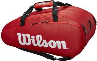 Wilson Tour 3 Compartment Racket Bag Red