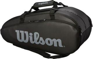 Wilson Tour 2 Compartment Large Racket Bag Black/Grey