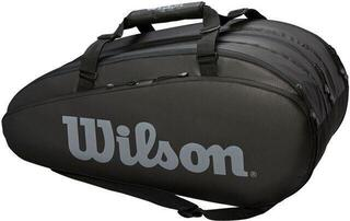 Wilson Tour 3 Compartment Racket Bag Black/Grey