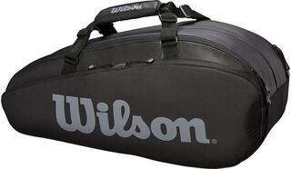 Wilson Tour 2 Compartment Small Racket Bag Black/Grey