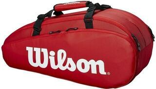 Wilson Tour 2 Compartment Small Racket Bag Red