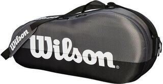 Wilson Team 1 Compartment Racket Bag Grey/Black
