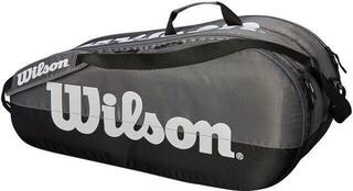 Wilson Team 2 Compartment Racket Bag Grey/Black