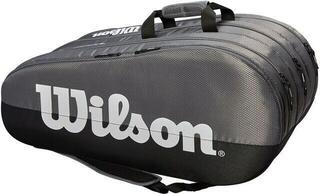 Wilson Team 3 Compartment Racket Bag Grey/Black