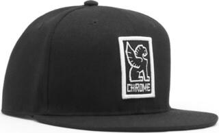 Chrome Baseball Cap Black/White