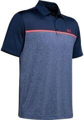 Under Armour Playoff 2.0 Mens Polo Shirt Academy/Blue Ink/Beta