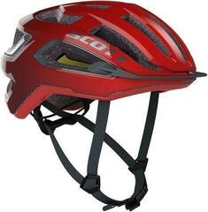 Scott Arx Plus (CE) Helmet Fiery Red/Storm Grey