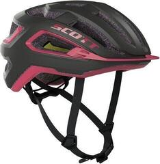 Scott Arx Plus (CE) Helmet Dark Grey/Pink