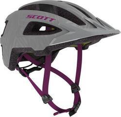 Scott Groove Plus (CE) Helmet Grey/Ultra Violet