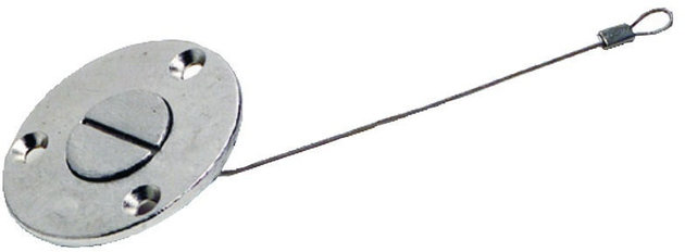 Osculati Drain plug with screwdriver opening / stainless steel
