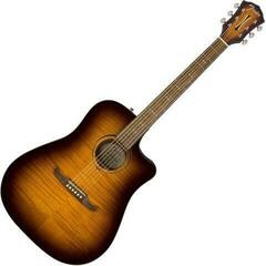 Fender FA-325CE Dreadnought Mocha Burst