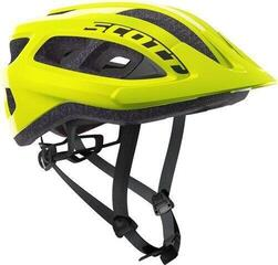 Scott Supra Helmet (CE) Yellow Fluorescent