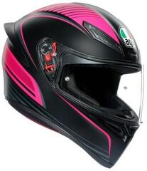 AGV K1 Warmup Black/Pink