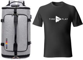 Muziker Time to Play T-Shirt Set Black/White
