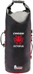 Cressi Octopus Dry Backpack 30L Black/Red