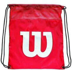 Wilson Cinch Bag Red