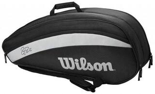 Wilson Roger Federer Team Racket Bag 6 Black