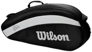 Wilson Roger Federer Team Racket Bag 3 Black