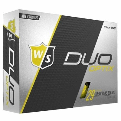 Wilson Staff Duo Optix Golf Balls Yellow