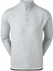 Footjoy Jersey Fleece Backed Mens Sweater Heather Grey M