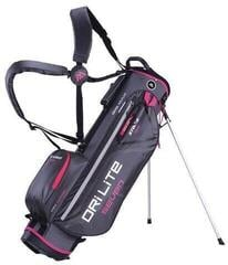 Big Max Dri Lite 7 Stand Bag Charcoal/Fuchsia