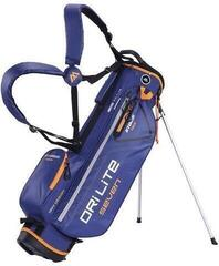 Big Max Dri Lite 7 Stand Bag Navy/Orange
