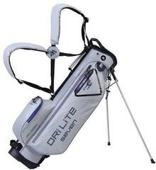 Big Max Dri Lite 7 Stand Bag Silver/Navy