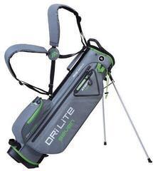 Big Max Dri Lite 7 Stand Bag Storm Silver/Lime