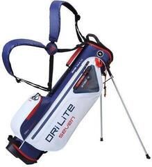 Big Max Dri Lite 7 Stand Bag White/Navy/Red