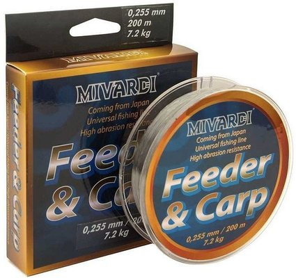 Mivardi Carp & Feeder 0,165 mm 200 m