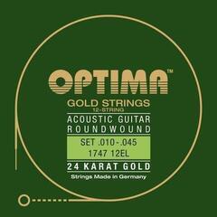 Optima 1747 12EL 24K Gold Acoustics