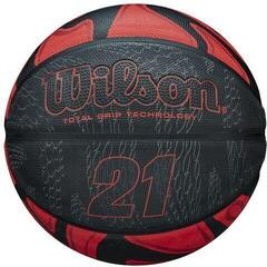 Wilson 21 Series Basketball Red/Black