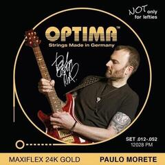 Optima 12028 PM 24K Gold Electrics Maxiflex Paolo Morete Signature