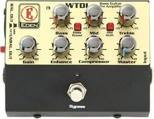 Eden WTDI Preamp/DI box