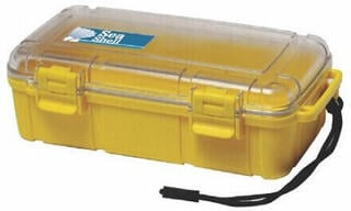Lalizas Sea Shell Unbreakable Case 224 x 130 x 70 mm - Yellow