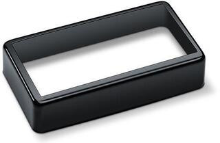 Schaller Pickup cover open Black Chrome