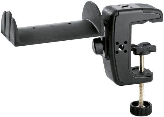 Konig & Meyer Headphone Holder With Table Clamp Black