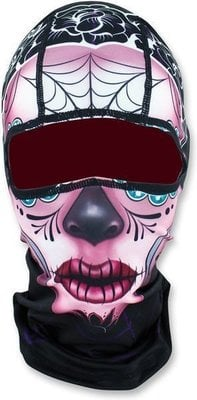 Zan Headgear Balaclava Sugar Skull