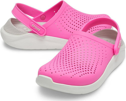 Crocs LiteRide Clog Electric Pink/Almost White 41-42