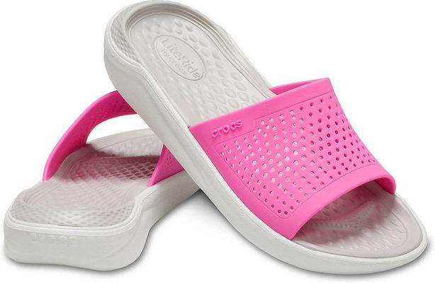 Crocs LiteRide Slide Electric Pink/Almost White 38-39