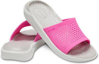 Crocs LiteRide Slide Electric Pink/Almost White
