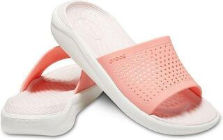 Crocs LiteRide Slide Melon/White