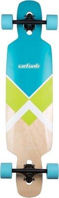 Wefunk Longboard Crossed Twintip 37'' Turquoise/green