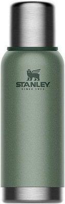 Stanley The Stainless Steel Vacuum Bottle 1L Hammertone Green