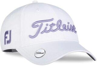 Titleist Tour Performance Ball Marker Womens Cap White/Lavendar