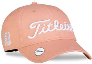 Titleist Tour Performance Ball Marker Trend Womens Cap Cantaloupe/White