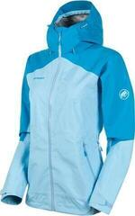 Mammut Convey Tour HS Hooded Womens Jacket Whisper/Ocean