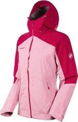 Mammut Convey Tour HS Hooded Womens Jacket Orchid/Sundown