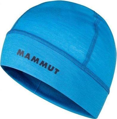 Mammut Merino Helmet Beanie Gentian